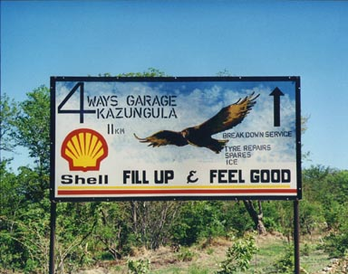 1994. Billboard in Botswana! This